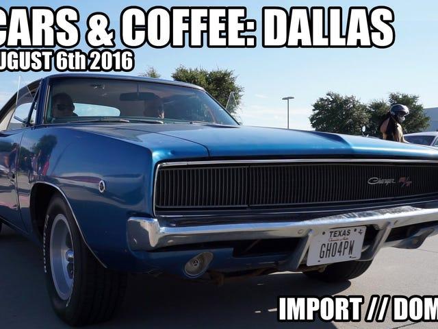 Bilar och kaffe Dallas // 6 augusti 2016