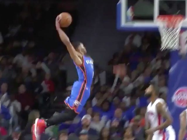 Marcus Morris는 Russell Westbrook Dunk의 어떤 부분도 원했다.