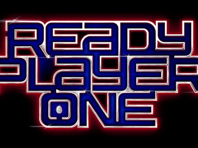 Υπάρχει ένα Πασχαλινό αυγό κρυμμένο στο <i>Ready Player One</i> λογότυπο <i>Ready Player One</i> κινηματογράφου