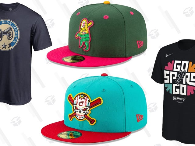 Save 20% On NBA and NHL Apparel, and More Importantly, Minor League Baseball Copa de la Diversión Hats