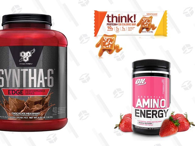 Stick To Your New Year's Resolution and Save Up to 30% On Energy and Workout Essentials