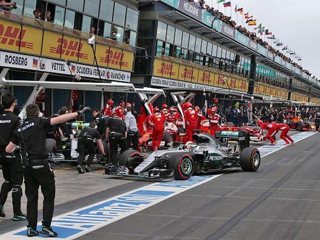 F1 qualifying changes less than a big hit