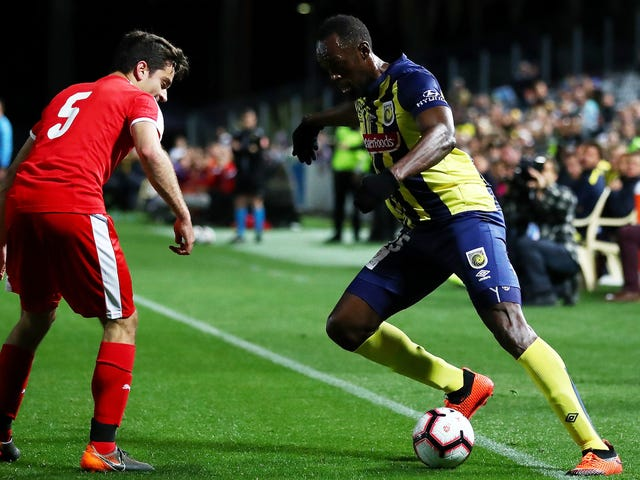 Usain Bolt Is A Soccer Player Now And He's Actually Not Terrible
