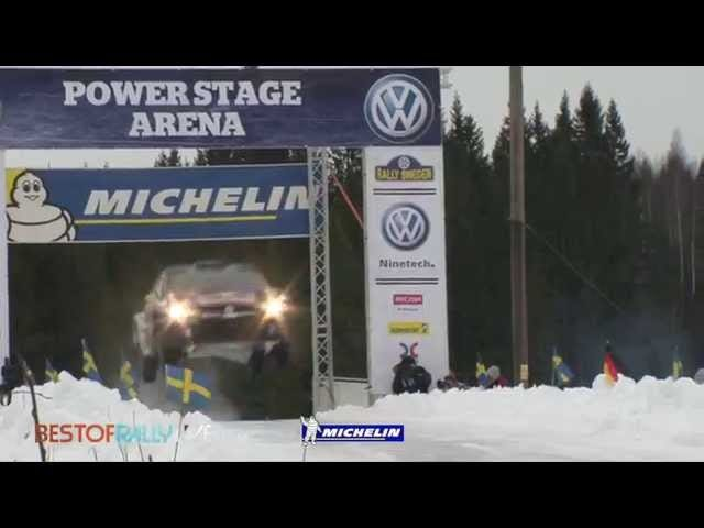 Rally Sweden, Home Of Eating It In A Snowbank