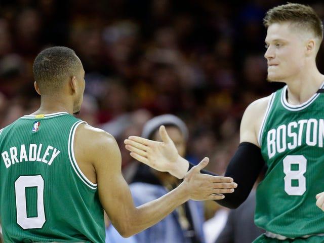 O Celtics venceu o jogo