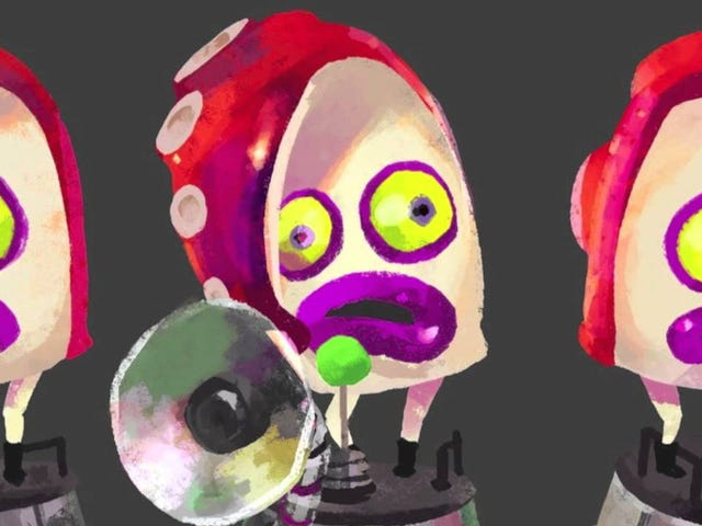 The Hype for Splatoon is so big, that the Octarians just came up with a theme song of their own!