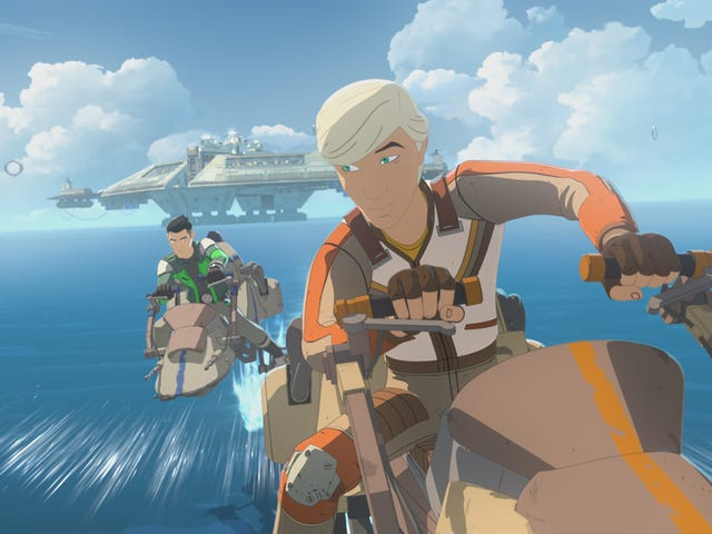 Elijah Wood Desires Another Ring on Star Wars Resistance