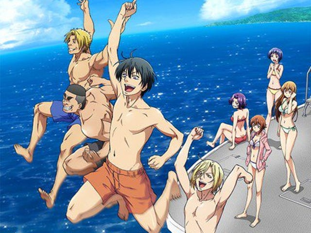 Enjoy the newest promo of the anime of Grand Blue Dreaming!