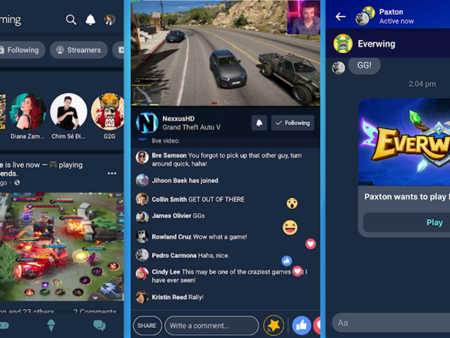 Facebook Will Take on Twitch and YouTube With Its Own Gaming App