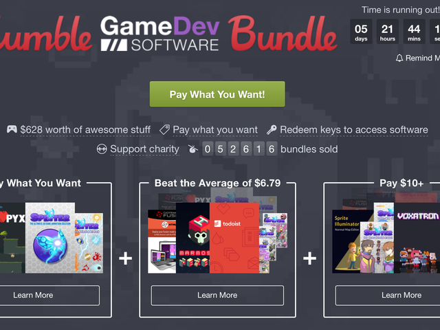 Humble's Latest Bundle Includes Todoist and 1Password For Cheap
