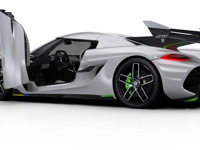 Εδώ είναι πώς το 1.600 Horsepower Twin-Turbo V8 της Koenigsegg Jesko είναι ακόμα καλύτερο από το The Regera's