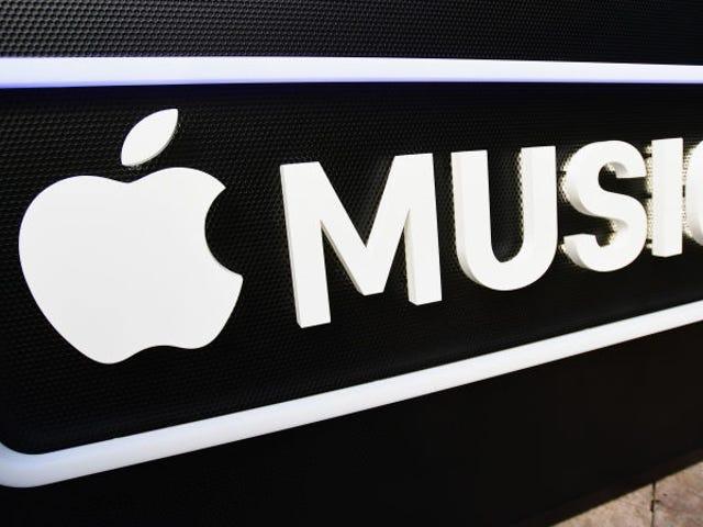 Αποσυνδεδεμένος χωρίς τη χρήση της μουσικής Apple Music desde el navegador