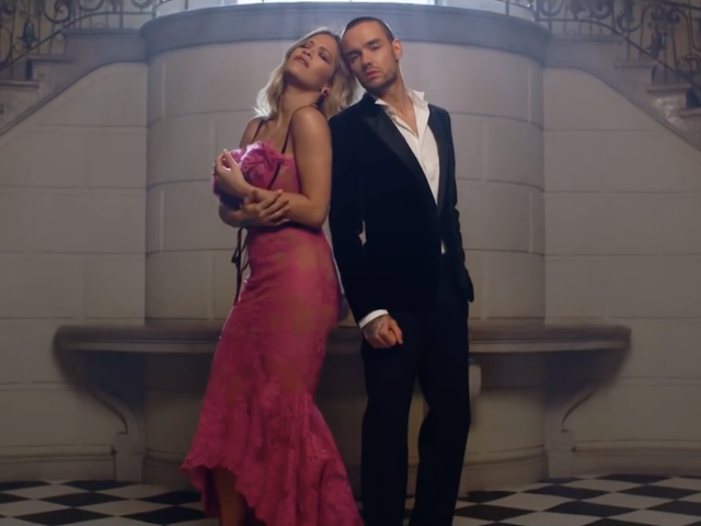 Rita Ora And Liam Payne Look Icy and Wealthy in the Video for Their Fifty Shades Free Song