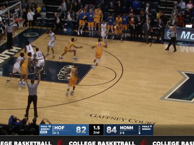 This Last-Second Make-And-Miss By Hofstra Was Glorious