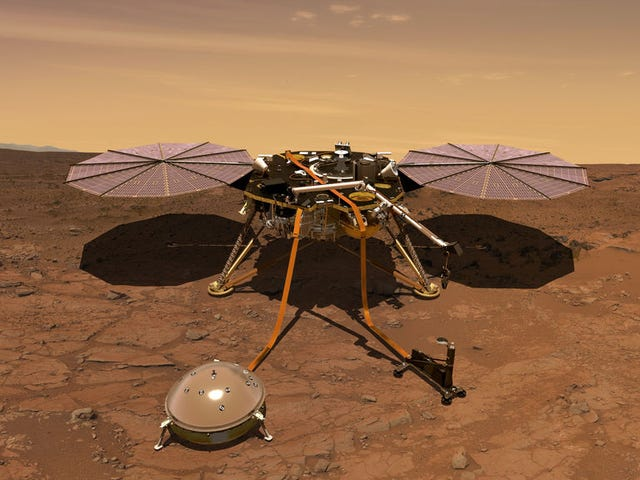 Why NASA's Next Mars Lander Will Launch from California Instead of Florida