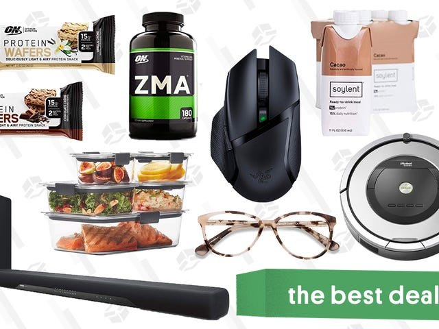 Monday's Best Deals: Razer Wireless Mouse, Bowflex Gold Box, Roomba, and More