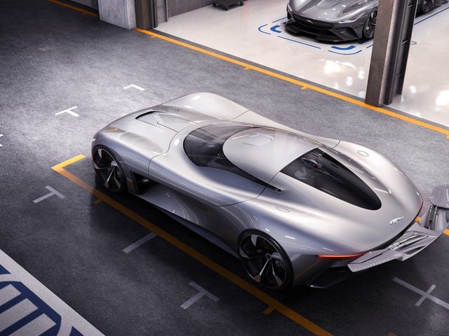 Jaguar's All-Electric Sports Car Concept Is Only Destined For Gran Turismo