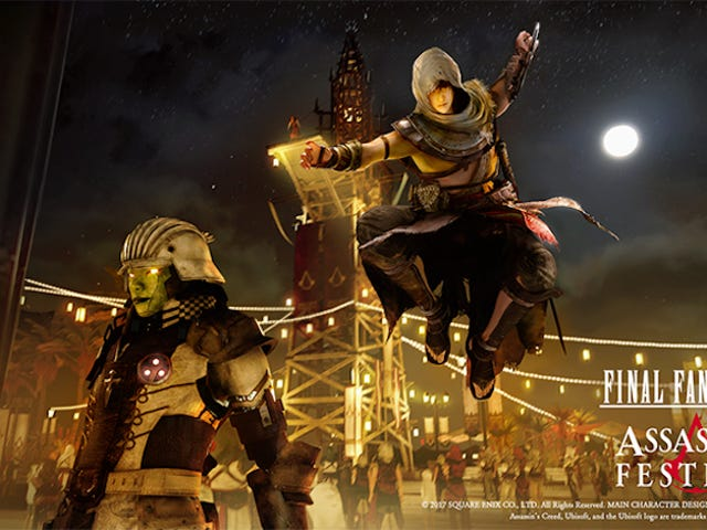 Final Fantasy XV Gets DLC From, Uh,Assassin's Creed