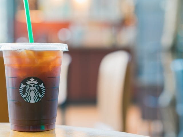 Get a Free Iced Drink at Starbucks Today With Purchase