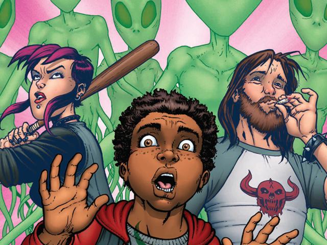 Image's New Comic <i>Burnouts</i> teini-ikäiset pääsevät pelastamaan maailman