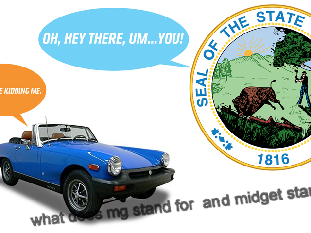 The State of Indiana Doesn't Know What an MG Midget Is
