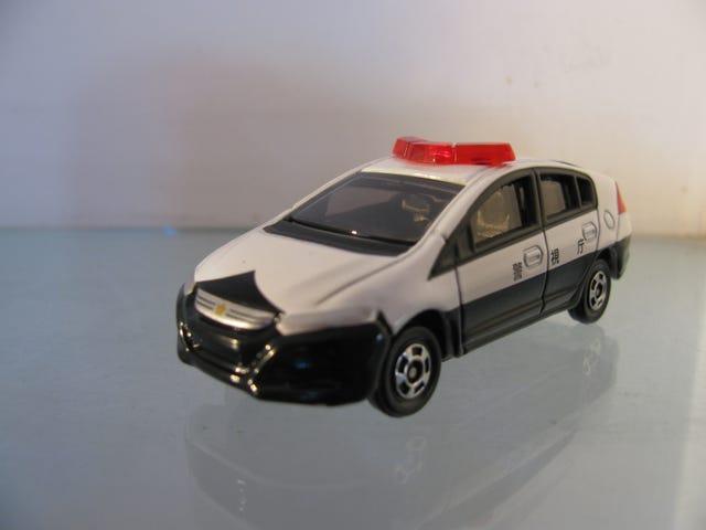 Police Honda Insight