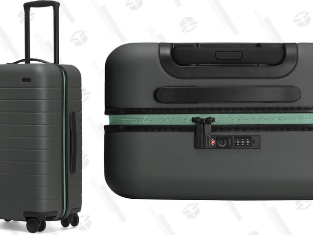 Away Is Heralding the Revamped Amex Green With Some Limited Edition Luggage