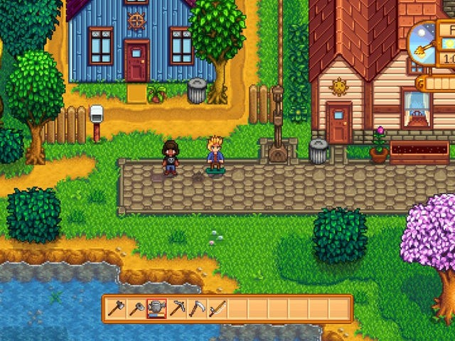 I Have Stardew ValleyOn The Switch, So You'll Never See Me Again