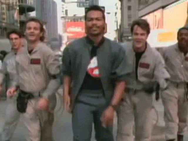 Le clip de musique sans musique de <i>Ghostbusters</i> est vraiment rapide