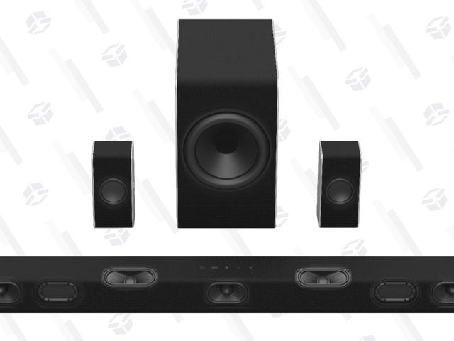 Experience Sound From Up, Down, and All Around: Vizo's Atmos Surround System Is a Steal At $300