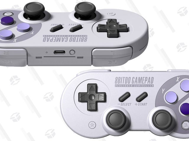 Save a Few Bucks On 8Bitdo's Switch and PC-Compatible SN30 Controller