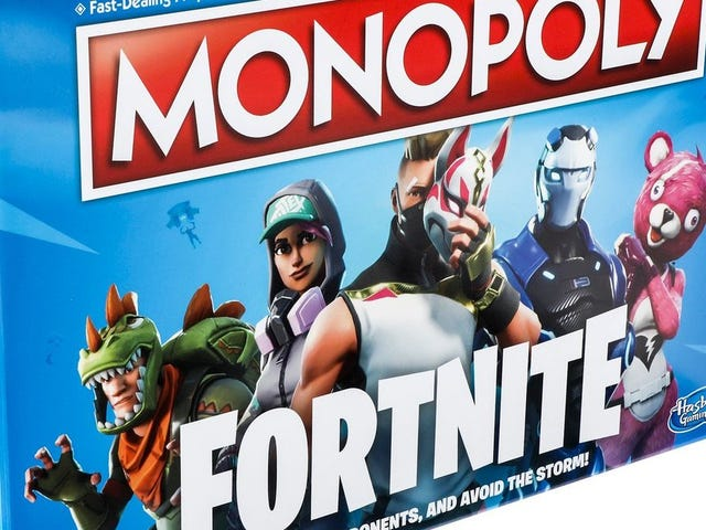 Fortnite Monopoly Replaces Boardwalk With Tilted Towers