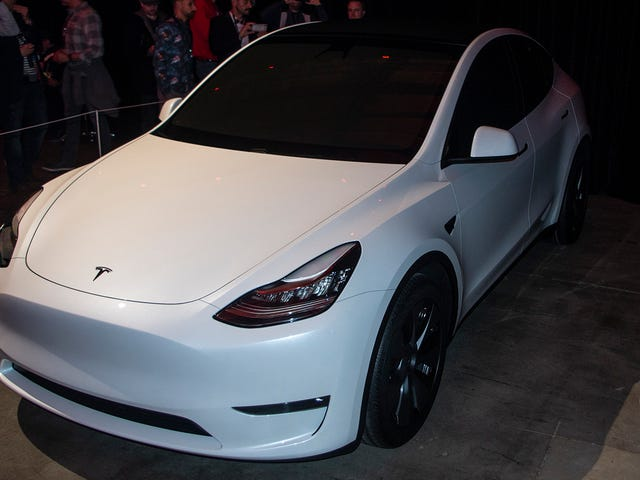 Here's What I Learned on a Very Short Tesla Model Y Ride