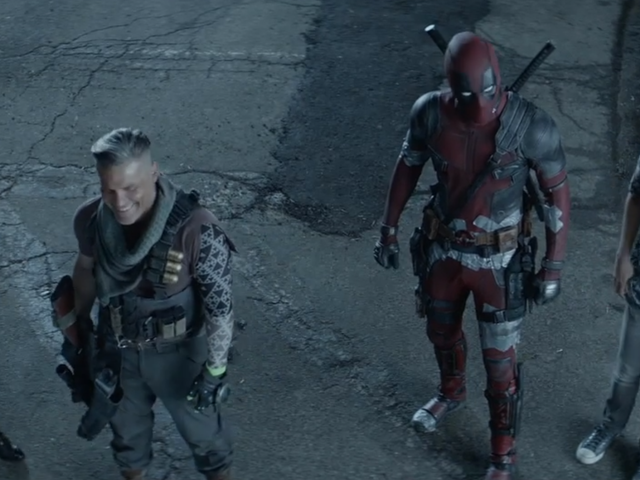 The First Glimpse of <i>Deadpool 2</i>'s Gag Reel Is Full of Missed Lines and Impromptu Trains