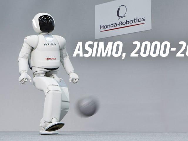 Dead: Honda Asimo