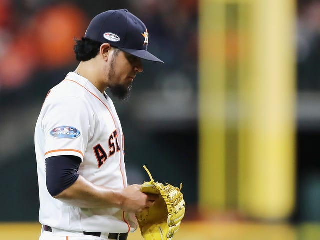 """Report: Astros Assistant GM Yelled """"Thank God We Got Osuna"""" At Female Reporters After ALCS Win"""