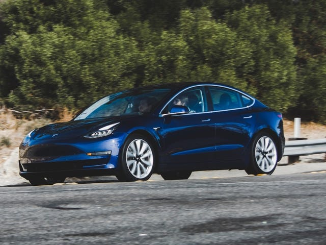 The Tesla Model 3 Is Finally Headed To Europe
