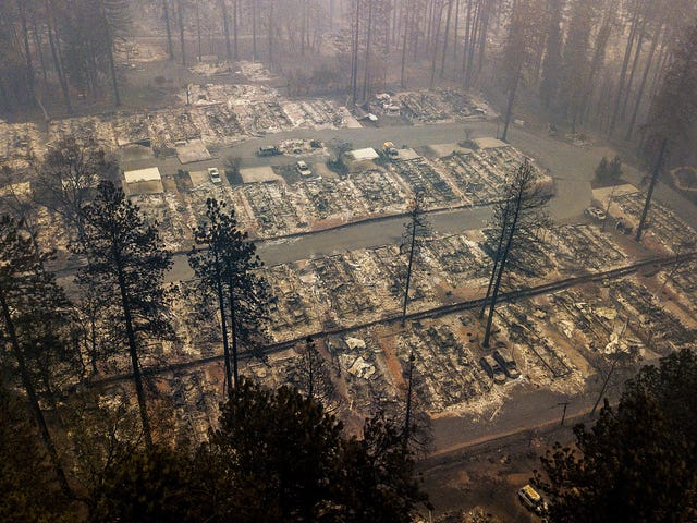 Rains May Help Fight the Camp Fire This Week—and Create a New Disaster