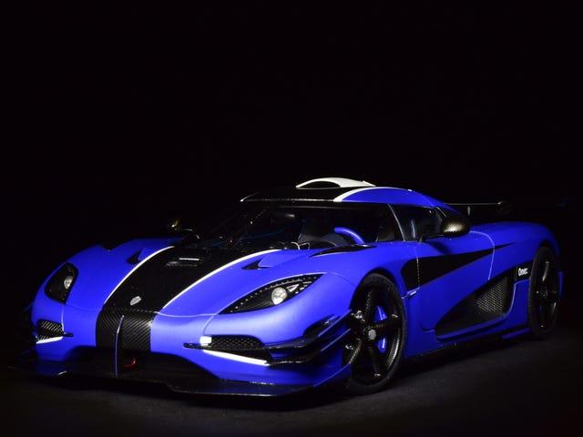 Diecast After Dark: AUTOart Koenigsegg One:1