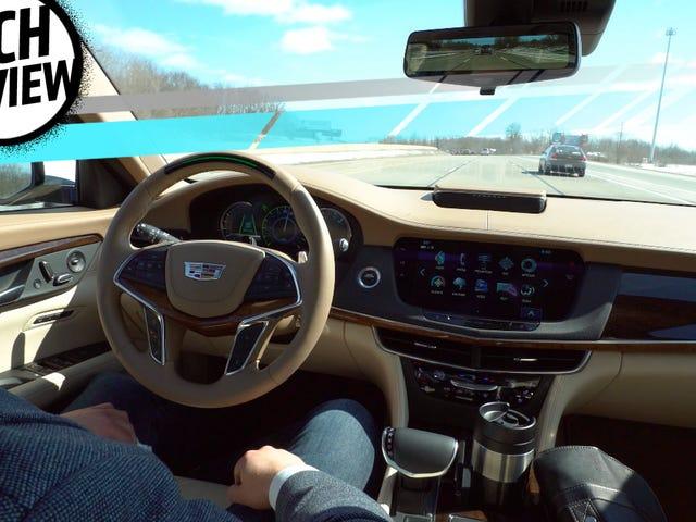 Η Super Cruise του Cadillac κάνει το μελλοντικό αυτοέλεγχο δυνατό