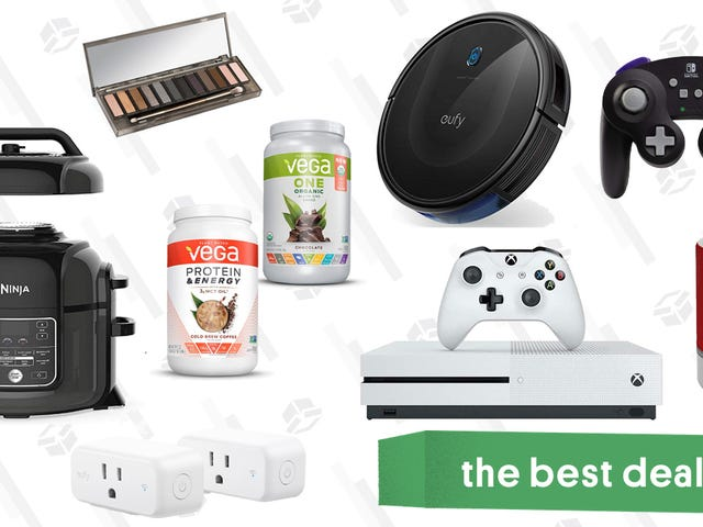 Friday's Best Deals: Qt. Ninja Foodi, Clear the Rack, Anker RoboVac, and More