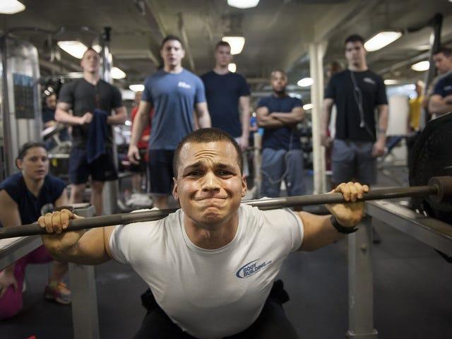 운동 할 때 문제가 되나요?