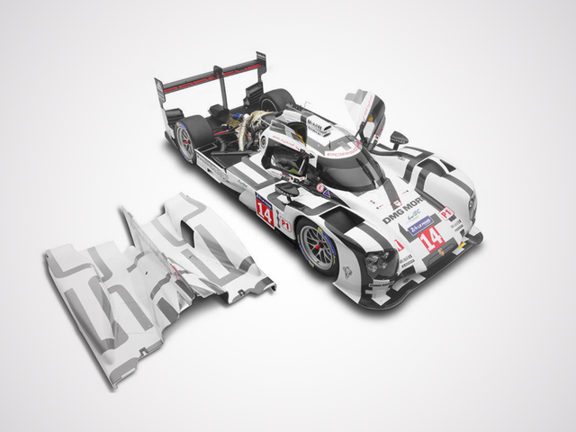 Today in 'Model Cars That Cost More Than a Year of College Tuition': The$14,689 Porsche 919 Hybrid