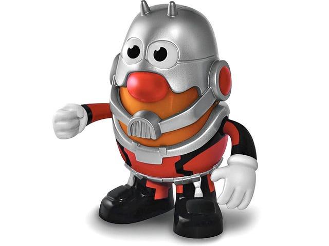 Vores første officielle kig på Mr. Potato Head i hans Ant-Man Costume