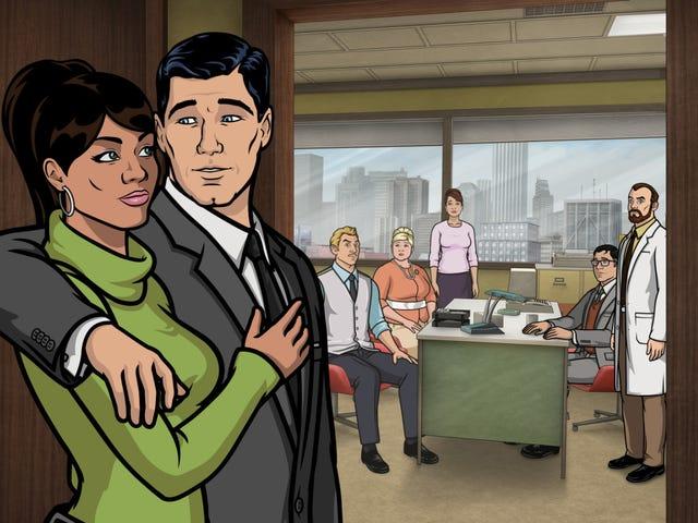 Cette semaine, l&#39; <i>Archer</i> Gang vise le bureau Smoochie-Poochies