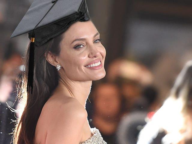 Det er PROFESSOR Angelina Jolie til dig!