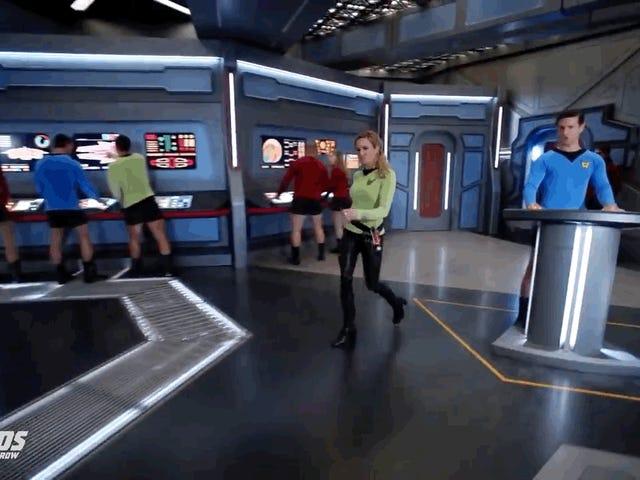 El nuevo tráiler de Legends of Tomorrow's Wild promete una parodia de Star Trek para las edades