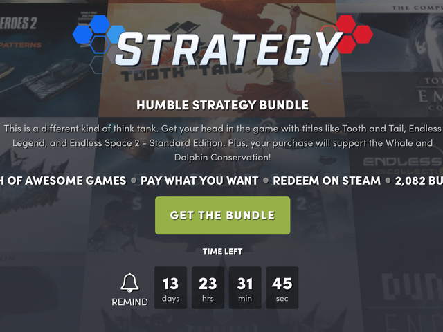 Name Your Price For a Bunch of Deep Strategy Games With the Latest Humble Bundle