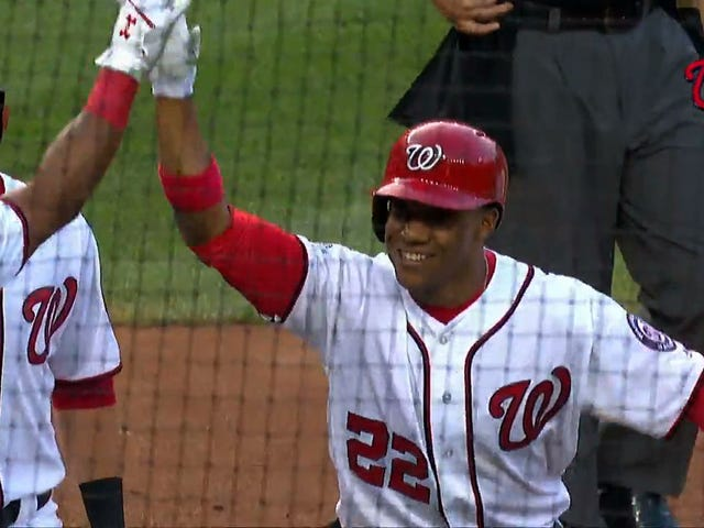 Wonderteen Juan Soto Homers On First Pitch Of First MLB Start