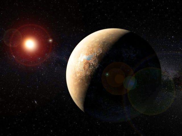 Próxima b, el exoplaneta más cercano a la Tierra podría ser habitable incluso pese a las llamaradas solares